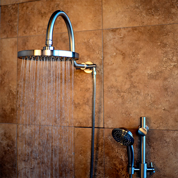 Shower Systems Brushed Nickel