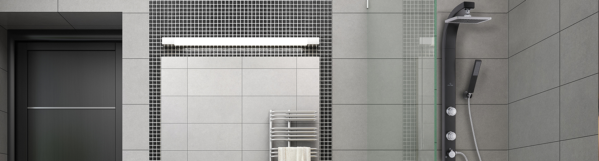 the splash rain shower system replaces your existing shower head in minutes