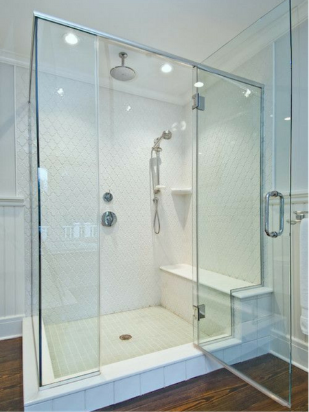 With That Said How Many Of You Would Enjoy A Shower Experience Similar To These Notice The Rain Head And Separate Handheld